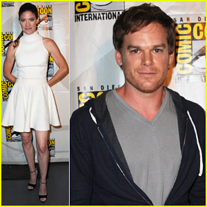 Michael C. Hall & Jennifer Carpenter: 'Dexter' Comic-Con Panel!