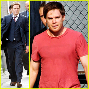 Michael C. Hall Talks 'Dexter' on 'Jimmy Kimmel Live'!