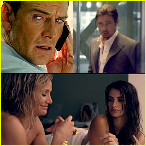 Brad Pitt & Michael Fassbender: 'Counselor' Trailer!