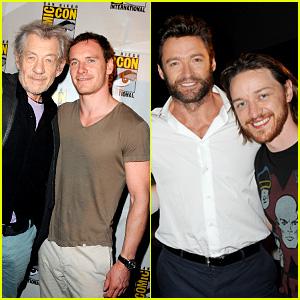 Michael Fassbender & James McAvoy: 'X-Men' at Comic-Con!