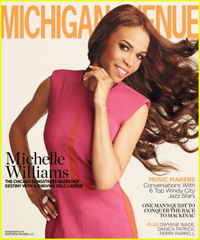 Michelle Williams Covers 'Michigan Avenue' Magazine Summer 2013
