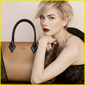 Michelle Williams: Louis Vuitton's Newest Face!
