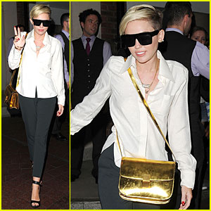 Miley Cyrus: Lesbian Label is Not Offensive!