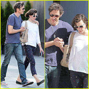 Milla Jovovich & Paul W.S. Anderson Hold Hands in Toronto!