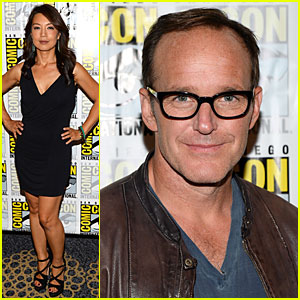 Ming-Na Wen & Clark Gregg: 'S.H.I.E.L.D.' at Comic-Con!