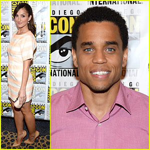 Minka Kelly & Michael Ealy: 'Almost Human' at Comic-Con!