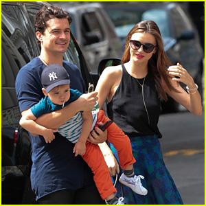 Miranda Kerr & Orlando Bloom: Family Day with Flynn!