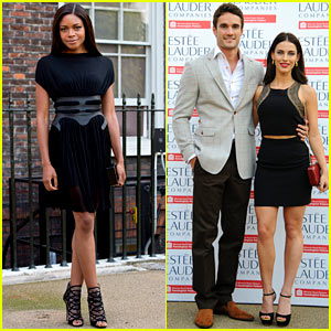 Naomie Harris & Jessica Lowndes: Fashion Rules Exhibit Launch!