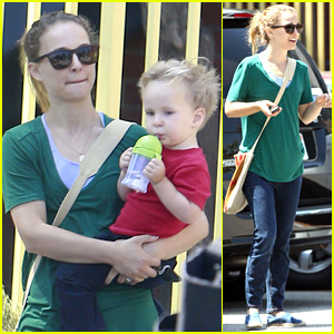 Natalie Portman: Monday Morning Outing with Aleph!