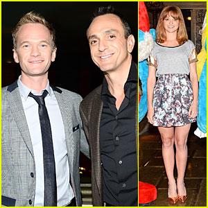 Neil Patrick Harris & Jayma Mays: 'Smurfs 2' Vegas Photo Call!