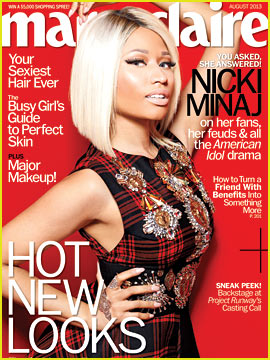 Nicki Minaj Covers 'Marie Claire' August 2013