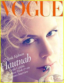 Nicole Kidman Covers 'Vogue Germany'