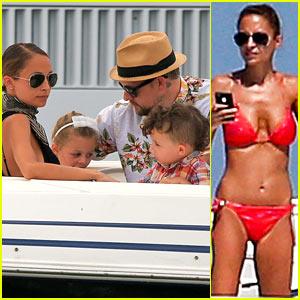 Nicole Richie: Bikini Vacation with the Family!