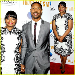Octavia Spencer & Michael B. Jordan Hold Hands at 'Fruitvale Station' NYC Premiere!