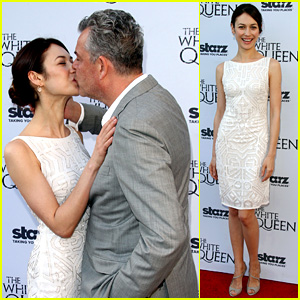 Olga Kurylenko Kisses Danny Huston at 'White Queen' Premiere