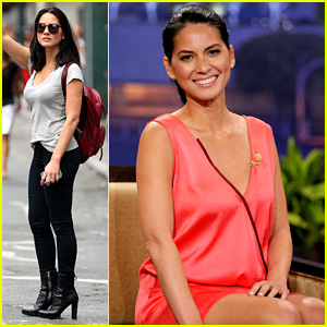 Olivia Munn Hails NYC Cab After 'Jay Leno' Appearance