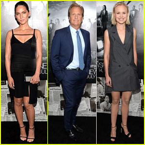 Olivia Munn & Jeff Daniels: 'The Newsroom' Season 2 Premiere
