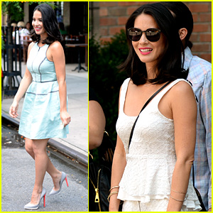 Olivia Munn: 'Live! with Kelly & Michael' Appearance!