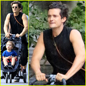 Orlando Bloom: Father-Son Day with Flynn!