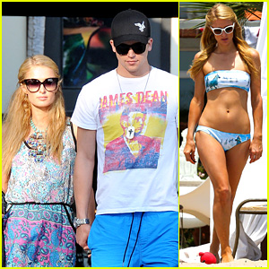 Paris Hilton: Malibu Bikini Babe After Lunch with River Viiperi