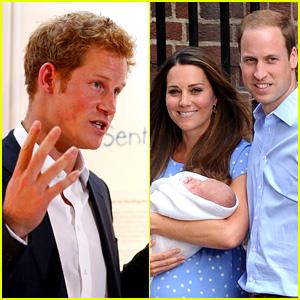 Prince Harry Talks Prince George - His Royal Baby Nephew!