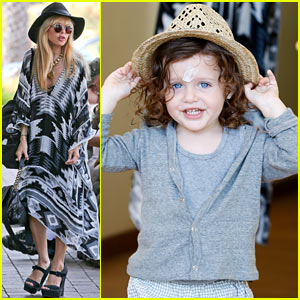 Rachel Zoe & Skyler Spend Sunday with Gelatos!