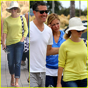 Reese Witherspoon & Jim Toth: Breakfast After Fourth of July!