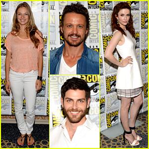 'Revolution' & 'Grimm' Casts Attend Comic-Con Panels!
