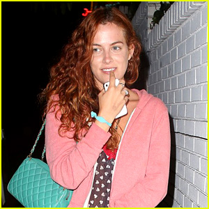 Riley Keough Leaves Chateau Marmont with a Smile
