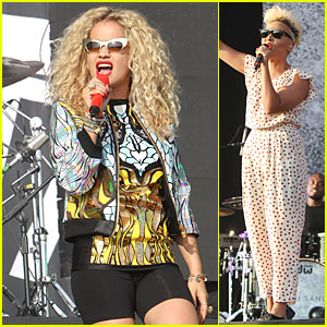 Rita Ora & Emeli Sande: British Yahoo Wireless Festival Performers!