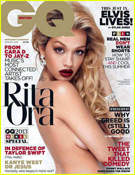 Rita Ora: Topless for 'British GQ' August 2013
