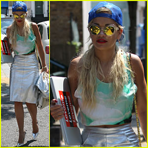 Rita Ora: Staying in the Studio Until It's Done!