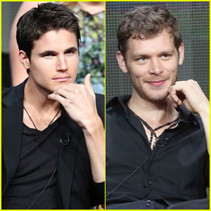Robbie Amell & Joseph Morgan: The CW at TCA 2013