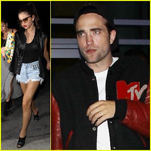 Robert Pattinson & Selena Gomez: Beyonce Concert Night Out!