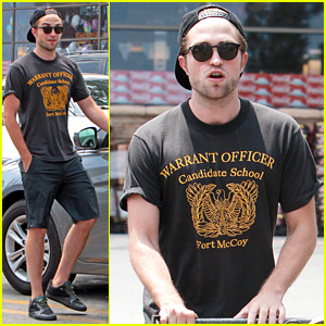 Robert Pattinson Steps Out After False Riley Keough Rumors