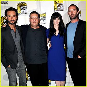 Rodrigo Santoro & Eva Green: '300: Rise of an Empire' Comic-Con Panel!