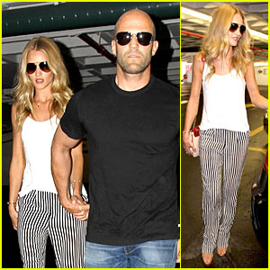 Rosie Huntington-Whiteley & Jason Statham: Doctor's Appointment After Lunch!