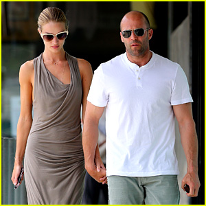 Rosie Huntington-Whiteley & Jason Statham: Lunch Lovers!