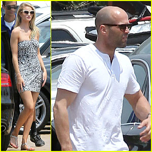 Rosie Huntington-Whiteley & Jason Statham: Nobu Lunch Couple!