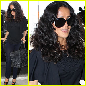 Salma Hayek: 'Grown Ups 2' Opens This Friday!
