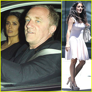 Salma Hayek Respects Angelina Jolie's Double Mastectomy!