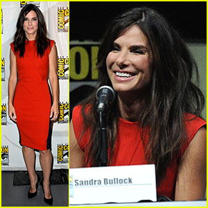 Sandra Bullock: 'Gravity' at Comic-Con!