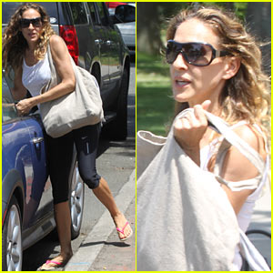 Sarah Jessica Parker Stocks Up at Citarella