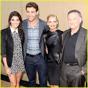 Sarah Michelle Gellar & 'Crazy Ones' Cast: CBS' Summer TCA Party!