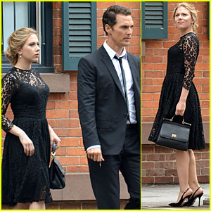 Scarlett Johansson & Matthew McConaughey: Dolce&Gabbana NYC Ad Shoot!