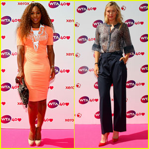Serena Williams & Maria Sharapova: WTA 40 Love Celebration