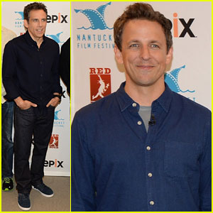 Seth Meyers & Ben Stiller: Nantucket Film Festival Duo!