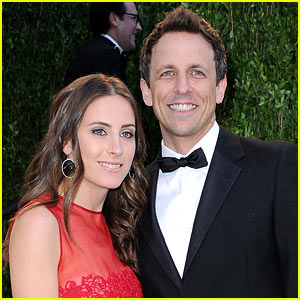 Seth Meyers: Engaged to Alexi Ashe!