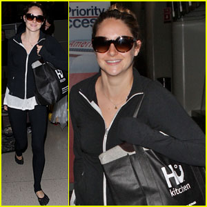 Shailene Woodley: Back in L.A. After 'Spectacular Now' Promo