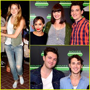 Shailene Woodley & 'Divergent' Cast Converge at Comic-Con!